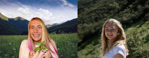 Iris Jenssen and Sophia Pitrowski  are committed to helping the earth heal and humans adapt their behavior towards sustainability.