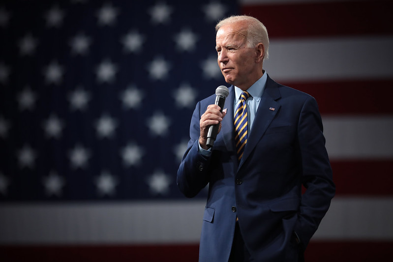 Biden looks forward to a brighter future as the United States President.