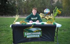 Makai Lipson secures his spot on Concordia University Irvine men's volleyball team.