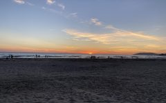The sunset in Pismo Beach on October 12, 2020.