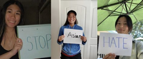 """Students from different schools stand for one cause, to """"Stop Asian Hate"""""""